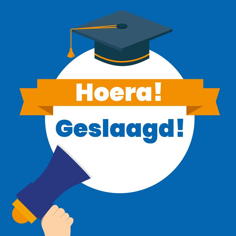 """Gefeliciteerd aan alle geslaagde leerlingen! 🎈Herkansers: succes! 🍀"""""""